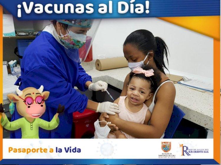 Vacunas al Día, te la ponemos fácil en la Red de Salud SurOriente!