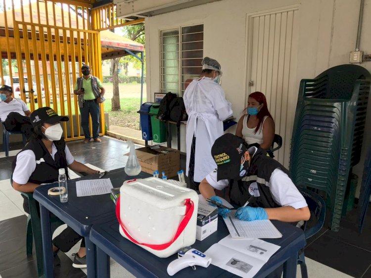 Los Guardianes de Vida realizan capacitaciones sobre protocolos de bioseguridad en la comuna 5