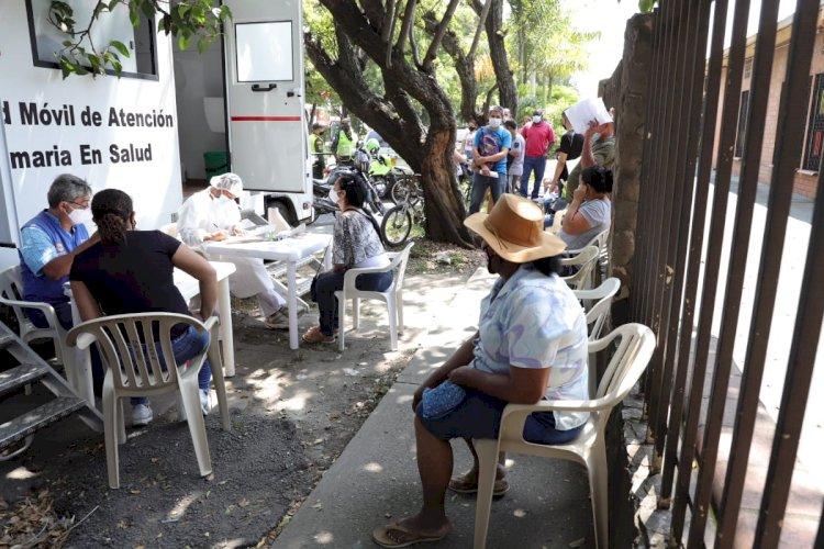1.500 Pruebas covid-19 gratuitas ha realizado la Red de Salud Suroriente en diferentes puntos de la ciudad.
